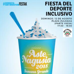 Fiesta del deporte inclusivo de la mano de Ostadar